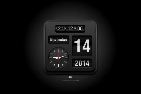 C2 - Flip Mac & PC Flip Clock Analog Screensaver