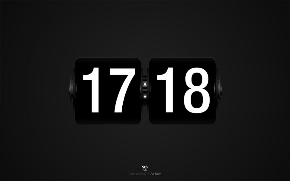 C5 - Flock Mac & PC Flip Clock Screensaver