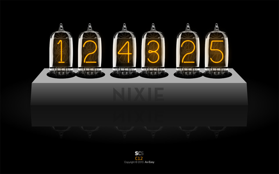 C12 - Nixie Mac & PC Clock Screensaver
